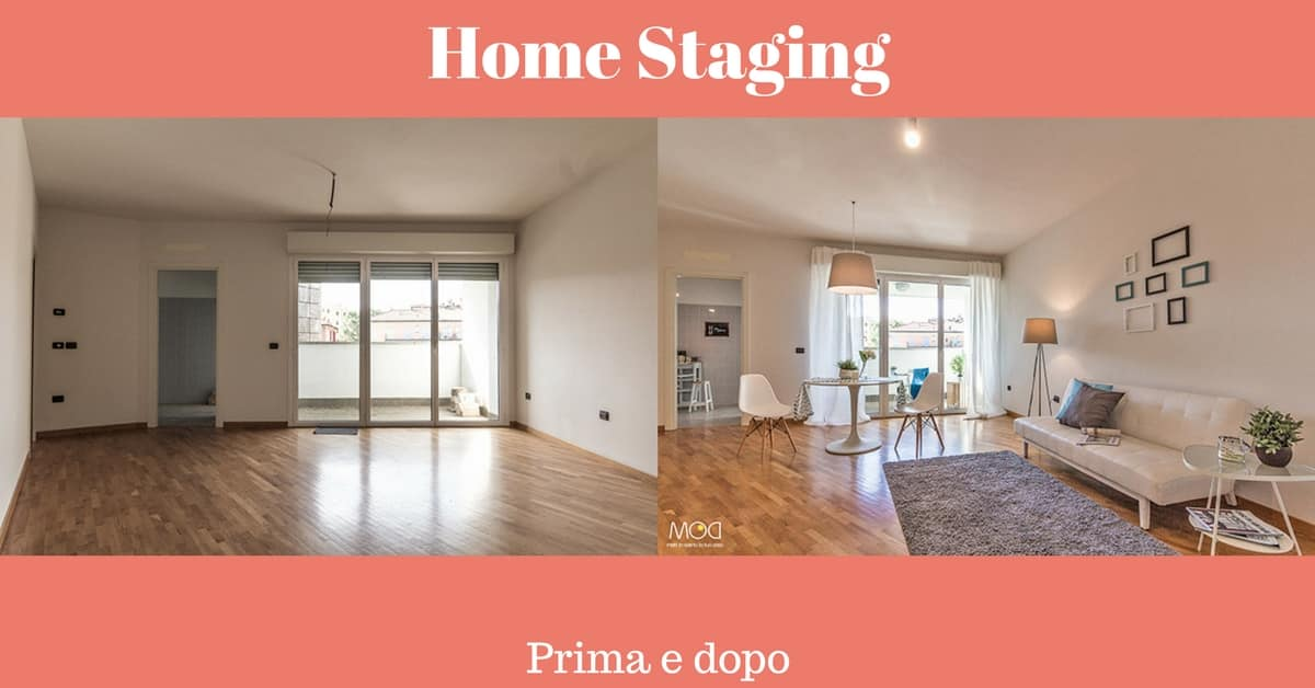 Home Staging - prima e dopo