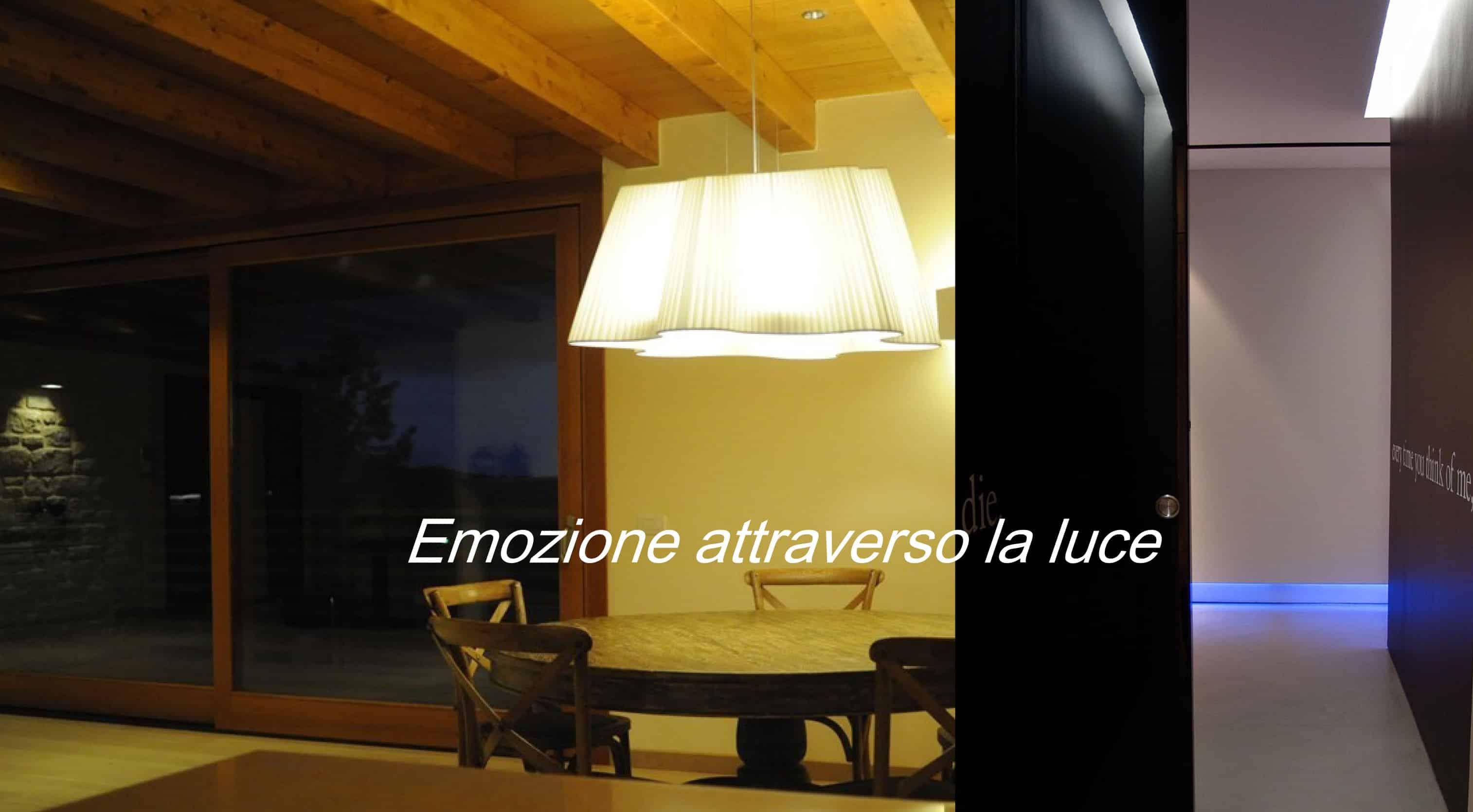 Luce come emozione, nuove opportunità per l'Home Staging