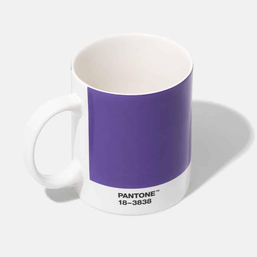 Pantone Ultra Violet tazza caffè