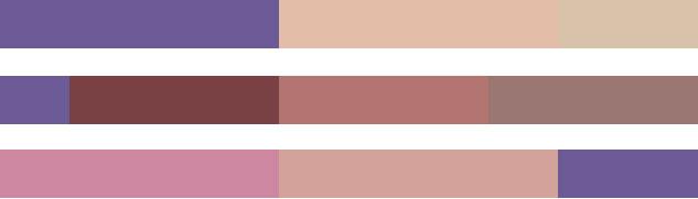 Pantone palette Quietitude colore 2018