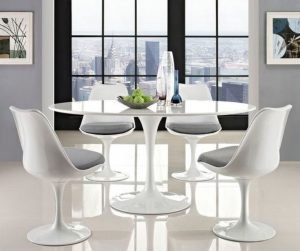 Tavolo e sedie Tulip. Photo Pinterest - Wayfair