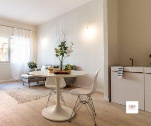 Il tavolo nell'home staging